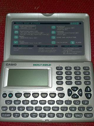 agenda electrónica antigua