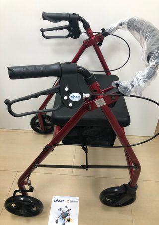 Andador rollator DRIVE MEDICAL NUEVO