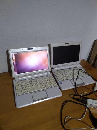 Dos mini portátiles Asus