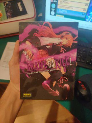 Tomo 6 Manga Akame ga Kill