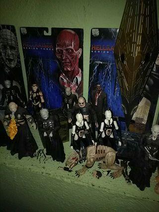colección completa hellraiser neca