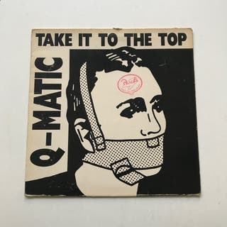 VINILO Q MATIC 1988 TAKE IT TO THE TOP