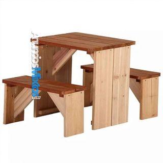Juego de muebles de picnic ZidZed