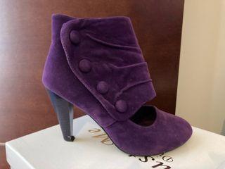 Zapato morado invierno