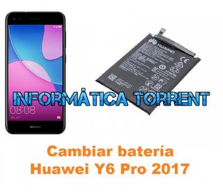Cambiar Batería Huawei Y6 Pro 2017
