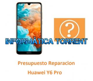 Presupuesto Reparación Huawei Y6 Pro 2019