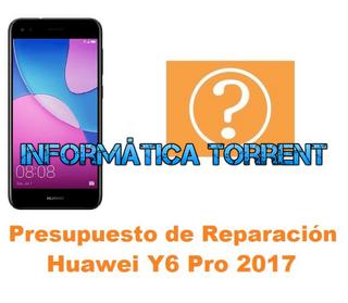 Presupuesto De Reparación Huawei Y6 Pro 2017
