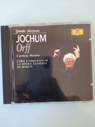CD - Jochum,Orff -Orquesta De La Ópera Alemana