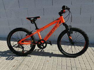 "Bicicleta Monty MTB, KY5, 20"" infantil"
