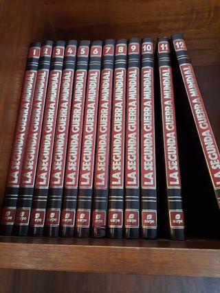 Colección libros II guerra mundial