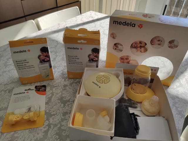 Sacaleches MEDELA mod. SWING