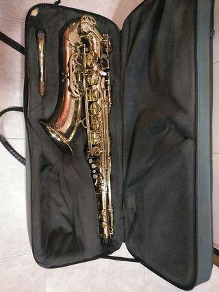 Saxo tenor Selmer serie 3 lacado listo para tocar!