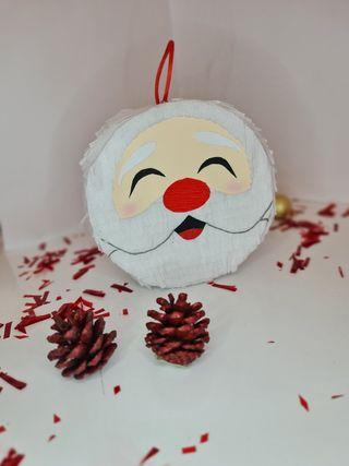 Mini piñatita de Papá Noel