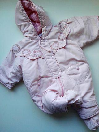Buzo bebé rosa con botines (A ESTRENAR)