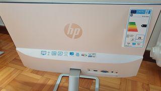 """monitor 21,5"""" HP con un defecto en la botonadura"""
