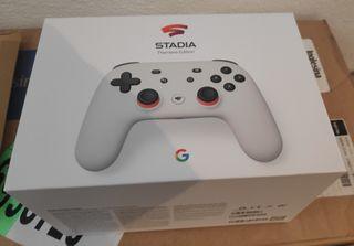 Mando de Stadia y Chromecast Ultra 4K