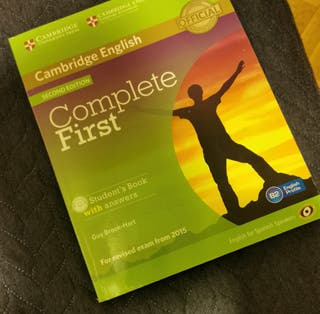 Complete first. Cambridge English