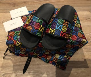 Gucci Psychedelic Slides Ss 2020