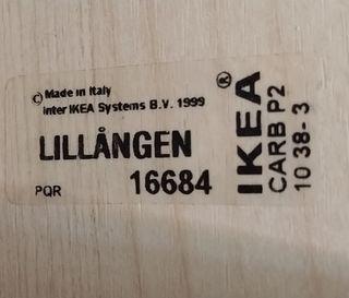CAMERINO BAÑO IKEA LILLANGEN
