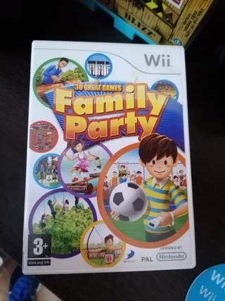 FAMILY PARTY PARA WII
