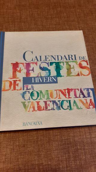 Calendari de Festes. Hivern.