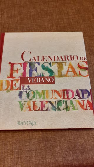 Calendario de Fiestas. Verano.