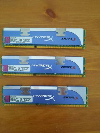 Memoria RAM DDR3 6GB 1600