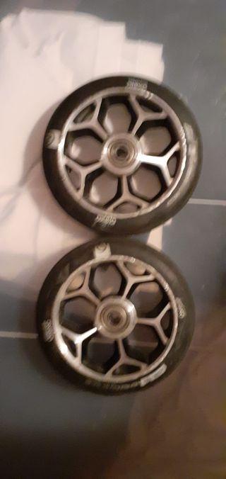 ruedas oxelo 120 nuevas patinete scooter