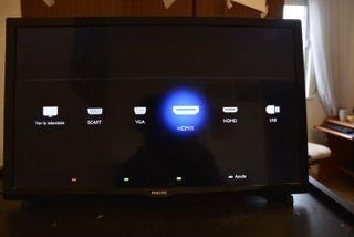 Tv Philips de 24 pulgadas, hd tv, 100Hz,usb, hdmi.