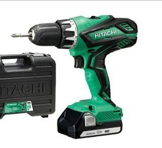taladro,atornillador,percutor de batería Hitachi