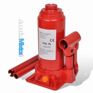 Gato hidráulico elevador de coche 5 toneladas rojo