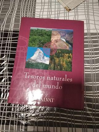 Libro Tesoros naturales del mundo