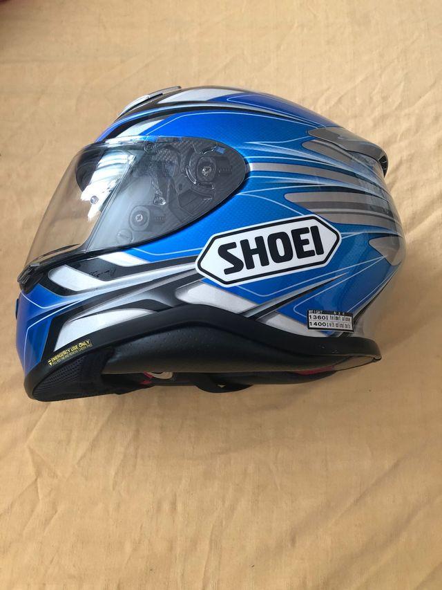 Casco moto Shoei. Talla L