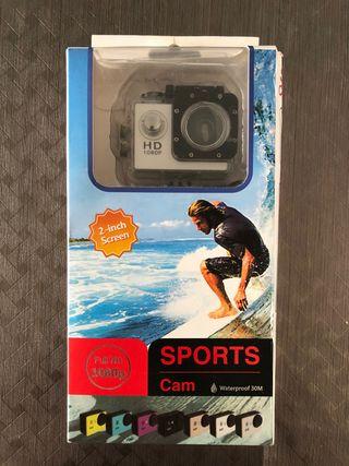 Cámara sport HD 1089P