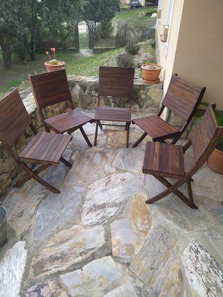 sillas de terraza