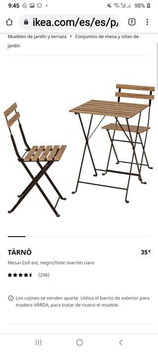 sillas y mesas ikea tarno