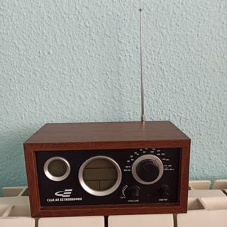 Radio Caja Extremadura imitación retro