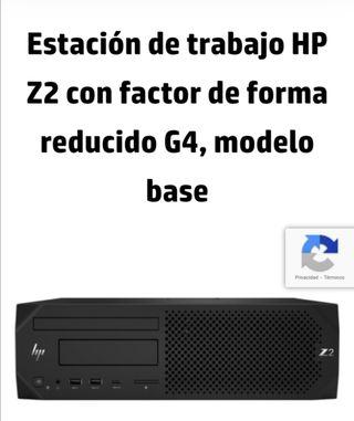 Nuevo! HP Z2 G4 / INTEL XEON + 16 RAM + 256 SSD