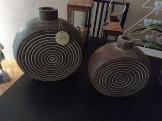 conjunto jarrones Bacova