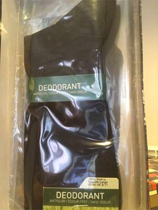 Calcetin hombre punto blanco deodorant 42-45