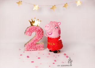 Número 2 y peppa pig