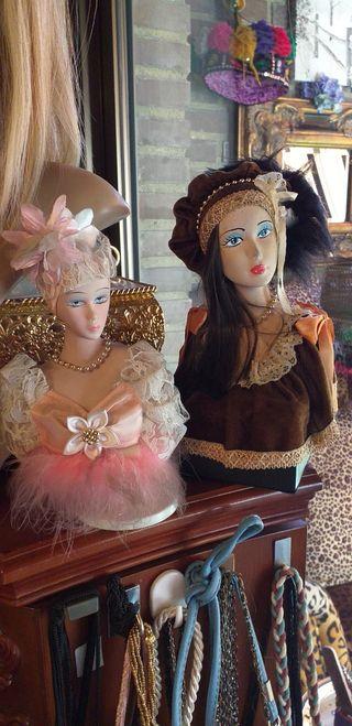 Bustos de muñeca se porcelana