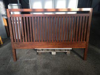 Cabezal de cama de madera, Ref: 241109