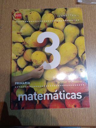 libros matemáticas tercero de primaria