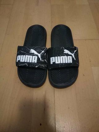 chanclas puma