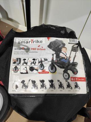 Smart trike 8 en 1 negro