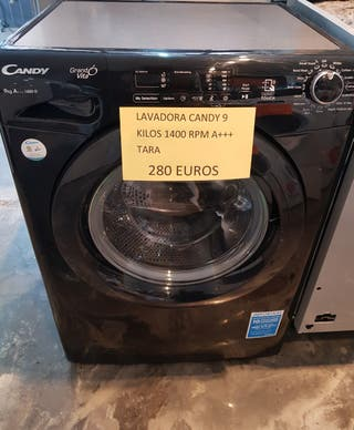Lavadora Candy 9 kilos 1400 rpm a+++