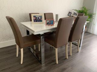 Conjunto 6 sillas comedor