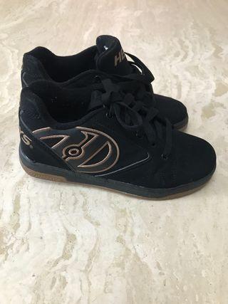Zapatillas heelys con patín