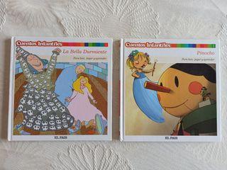 Cuentos infantiles La Bella Durmiente + Pinocho